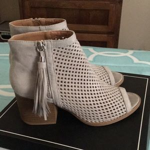 Open toe booties!